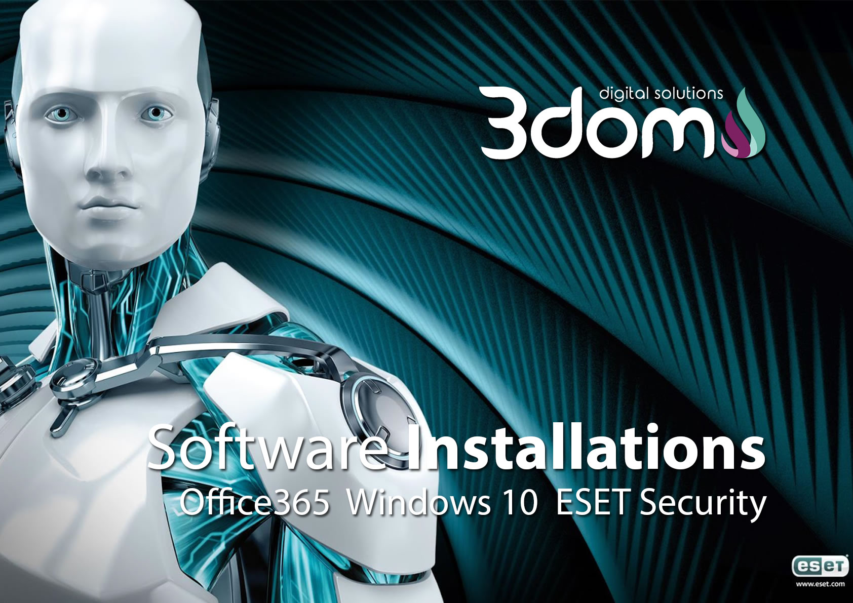 IT Services Repairs and Installations by 3DOM Technologies